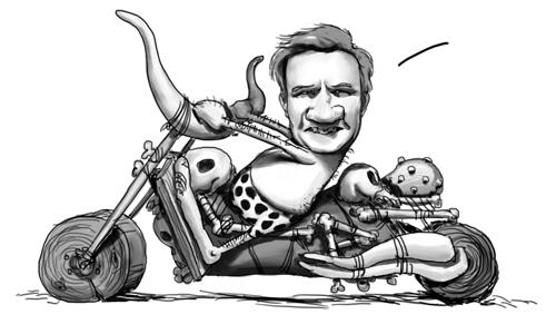 Cro en moto