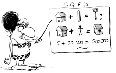 Prof de maths et d'économie appliquée au logement