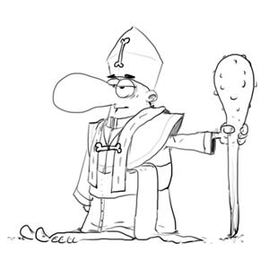 le Pape de la GFA
