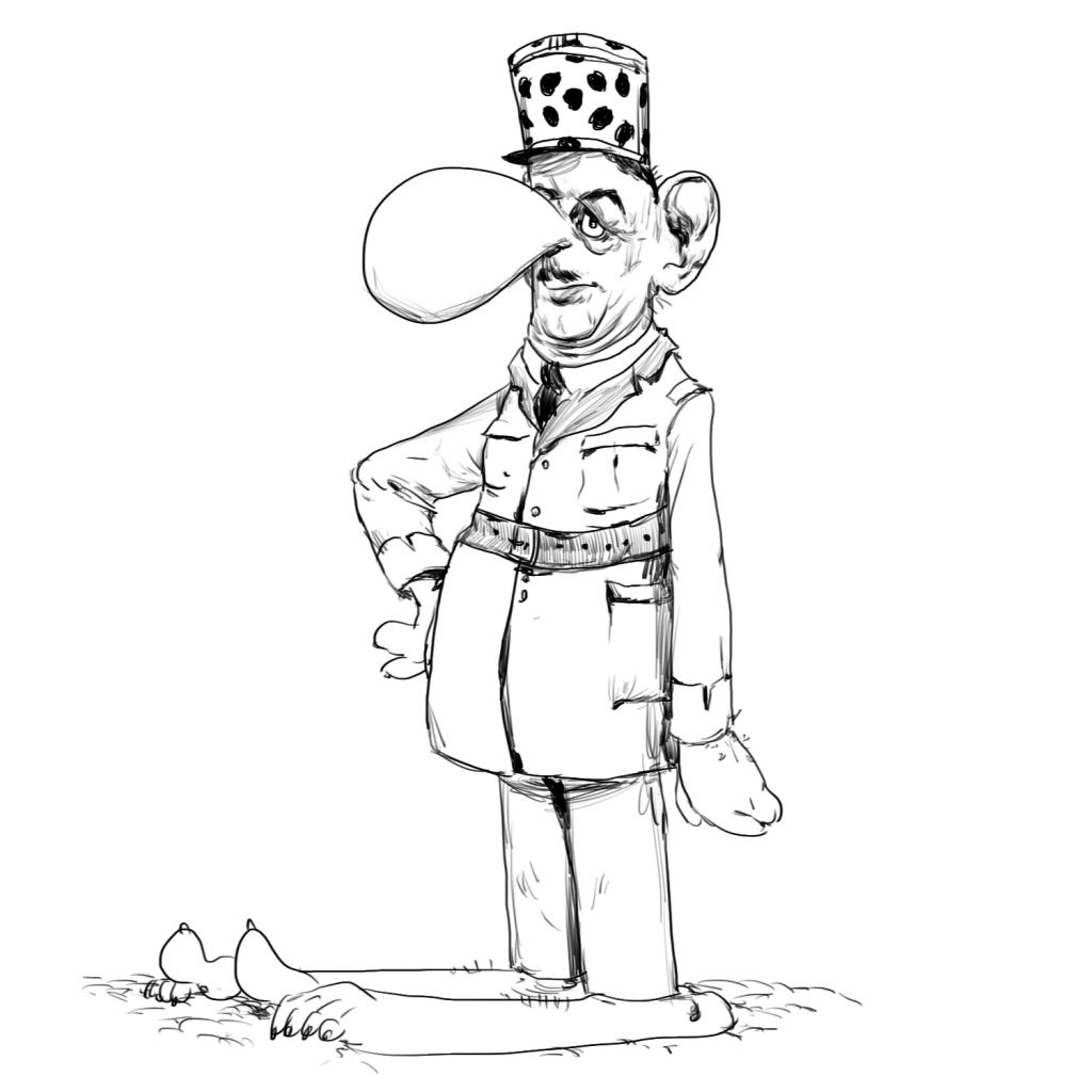 Le général de CROlle