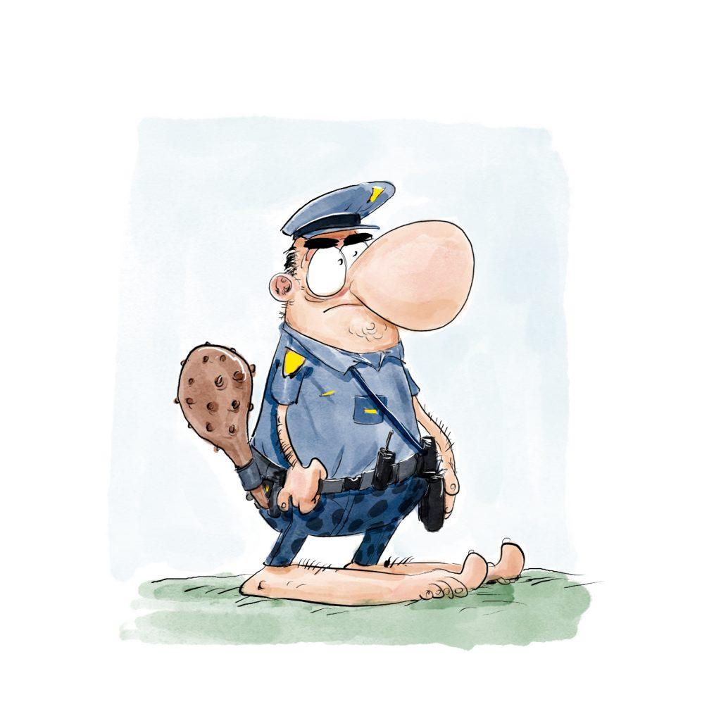 cro policier