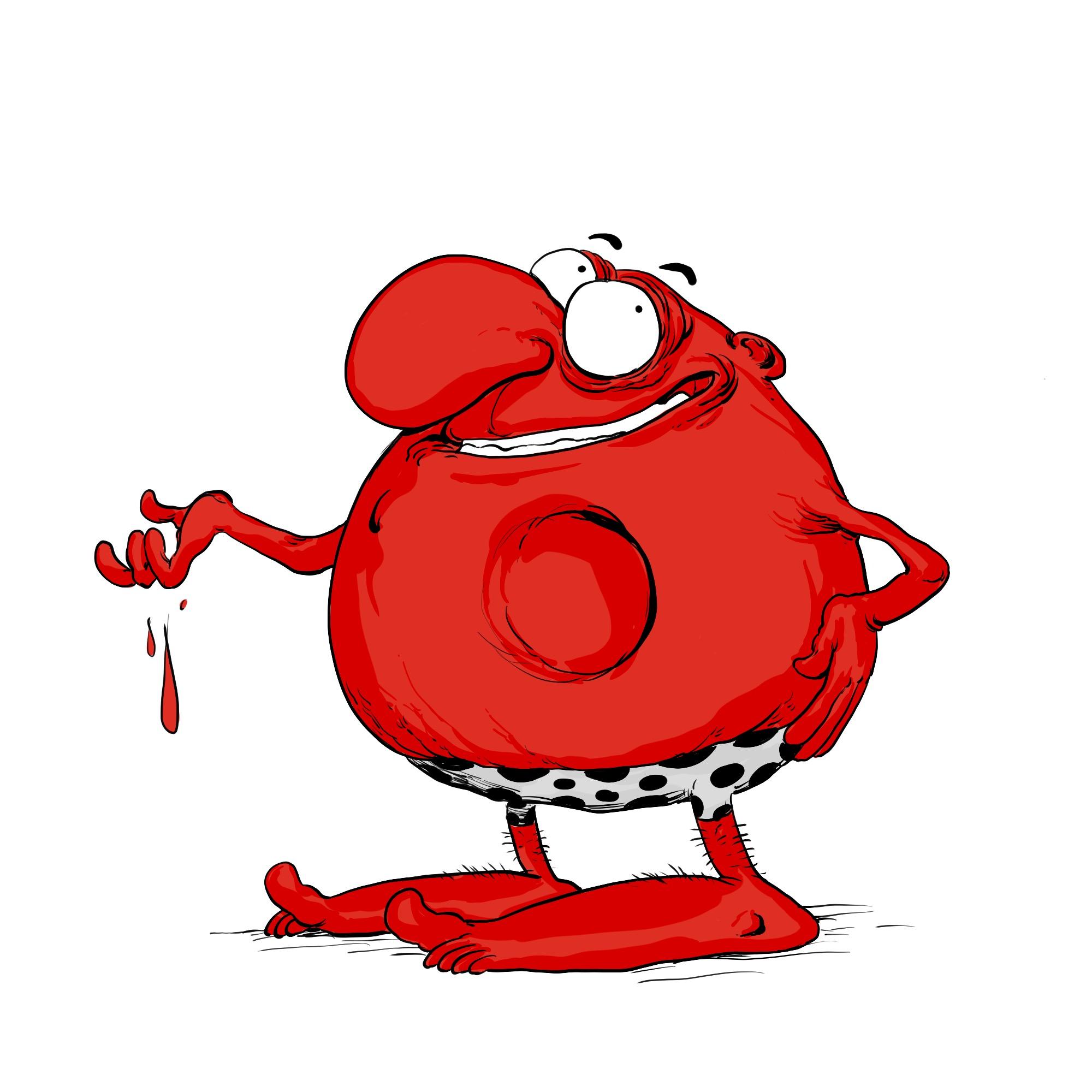 CRObule rouge, le globule cromagnon