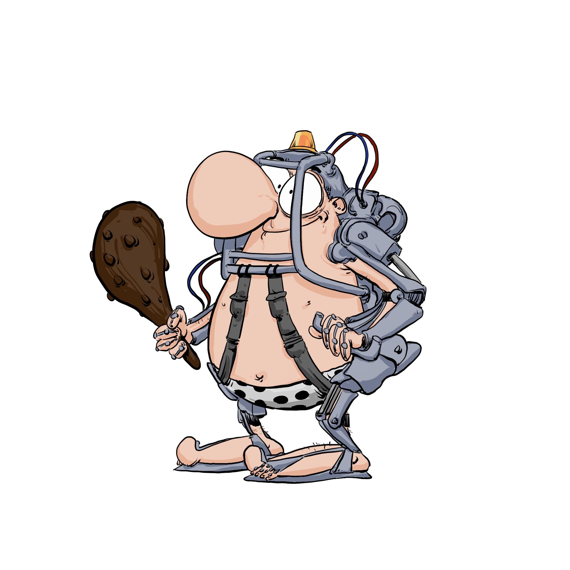 exosquelette à la sauce CRO