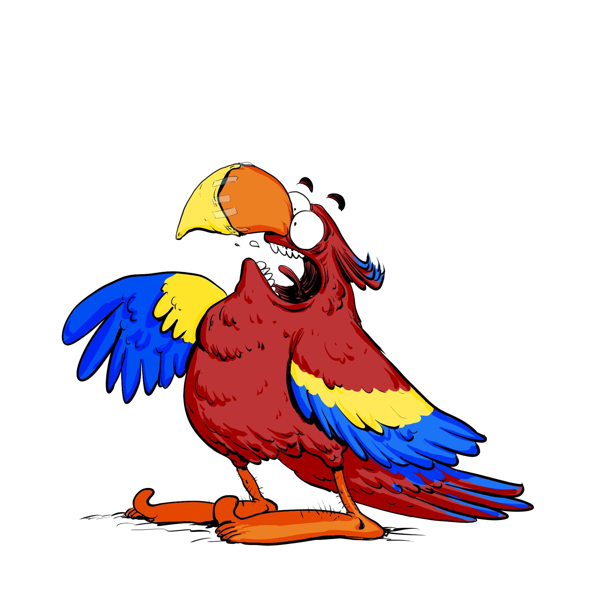 perroquet CRO